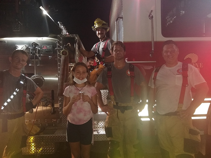 Quick-Thinking 11-Year-Old Saves Puppy From House Fire