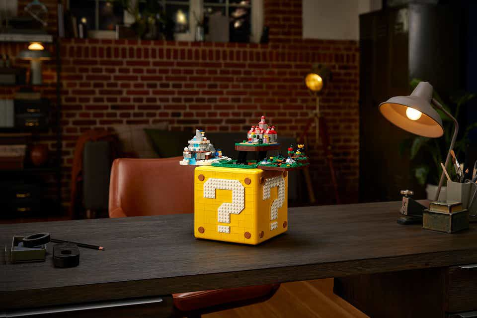 Lego's latest Mario collaboration is a big question mark block